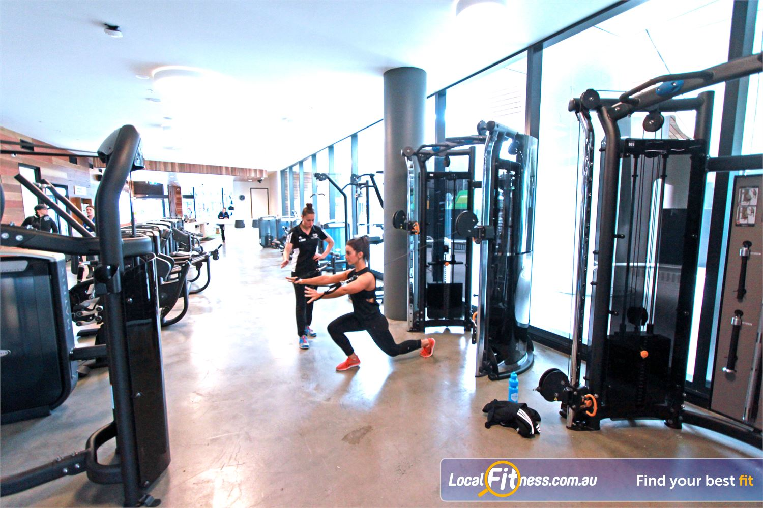 Goodlife Health Clubs Docklands Our Goodlife Docklands gym team are ready to help you reach your goals.