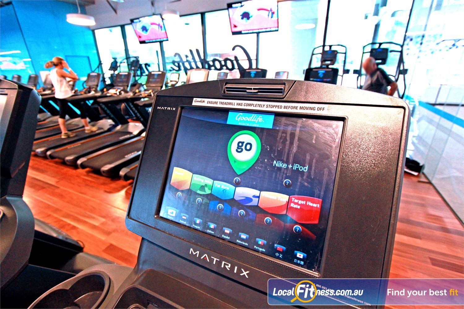 Goodlife Health Clubs Near North Melbourne Watch your favourite shows on your personal entertainment screens.