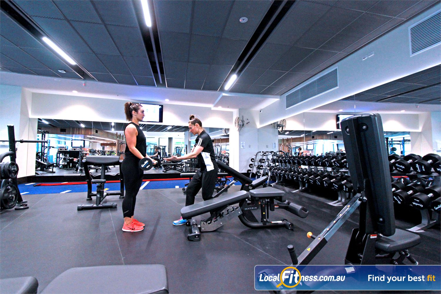 Goodlife Health Clubs Docklands Get the right advice on strength training from our Docklands gym team.