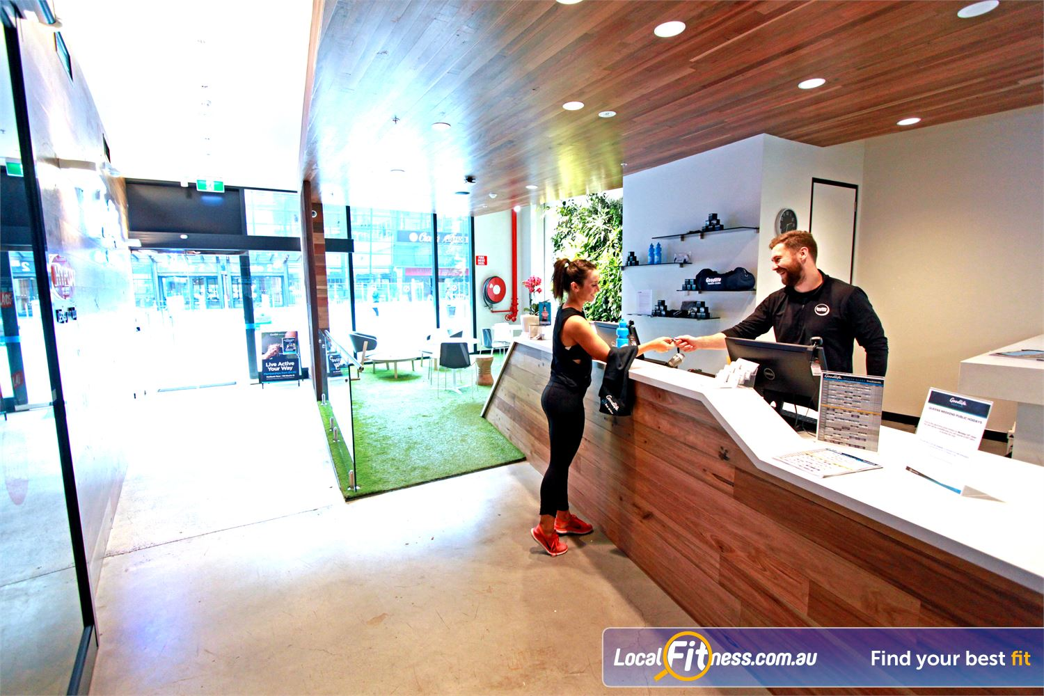 Goodlife Health Clubs Docklands Welcome to Goodlife with 24 hour gym access in Docklands.