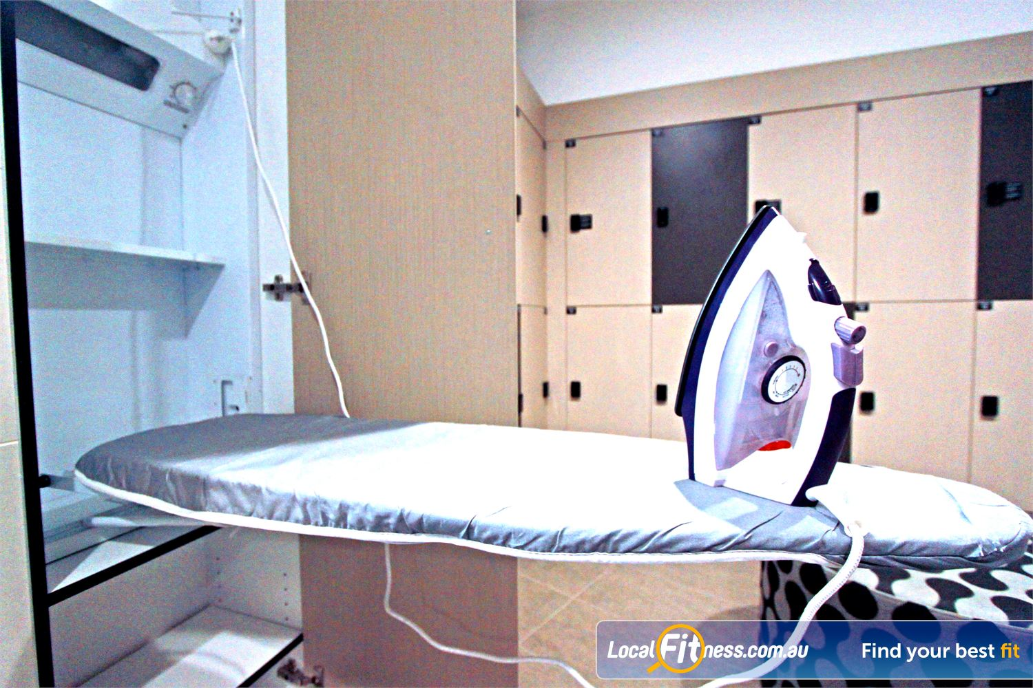 Goodlife Health Clubs Near North Melbourne We cater for all corporates with our iron station.