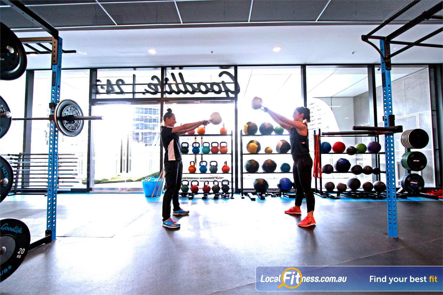 Goodlife Health Clubs Docklands Learn the correct training methods from our Docklands personal trainers.