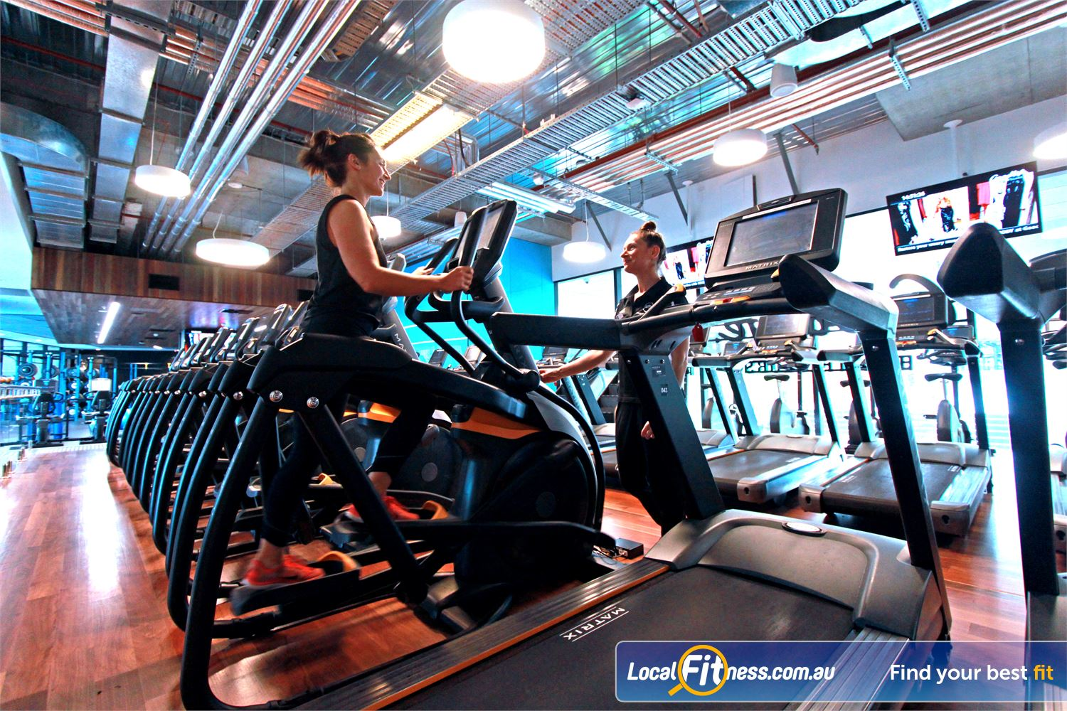 Goodlife Health Clubs Near South Melbourne Docklands personal training is a great way to guide you to success.