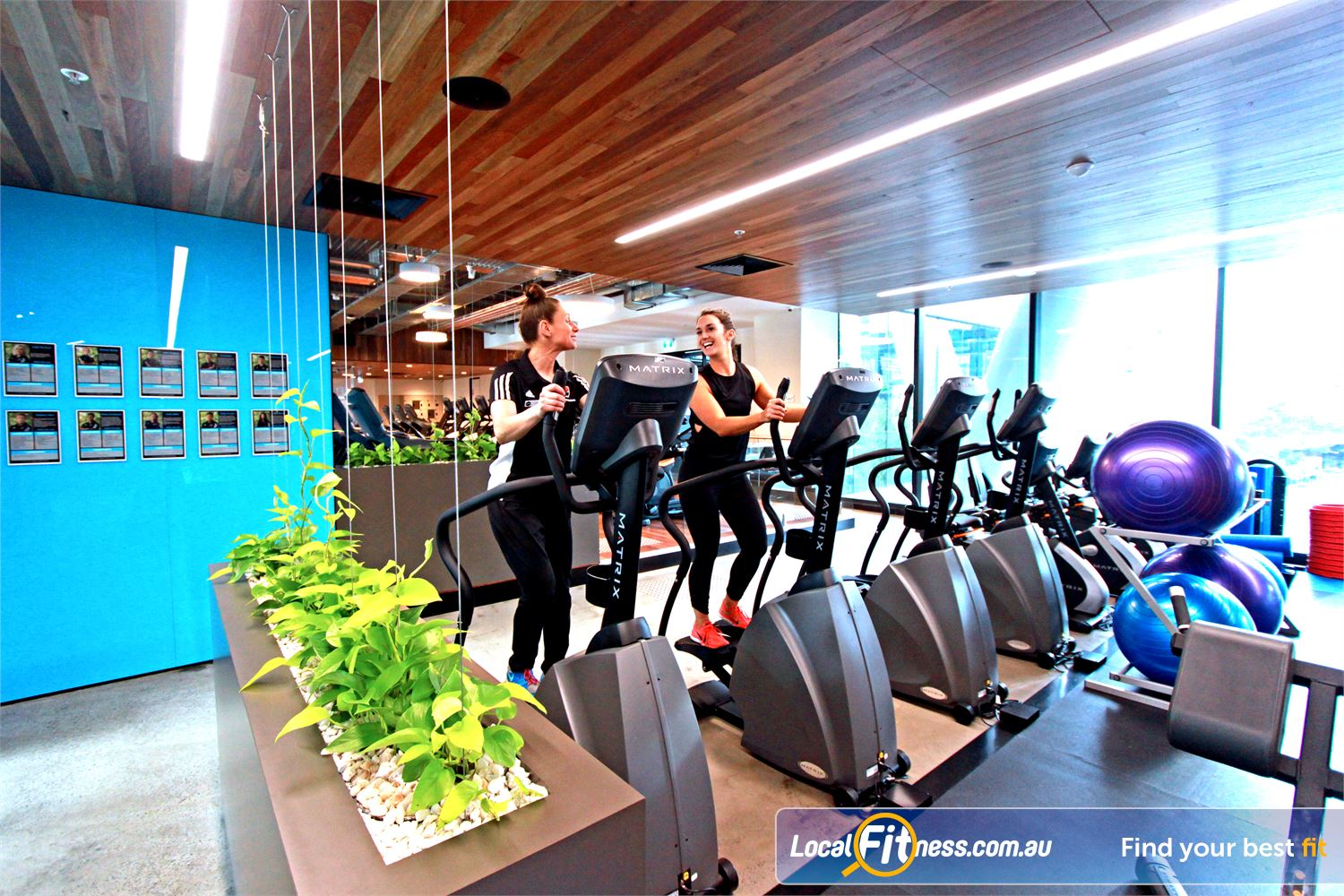 Goodlife Health Clubs Docklands 24 hour Docklands gym access is perfect for corporates, commuters and inner-city residents.
