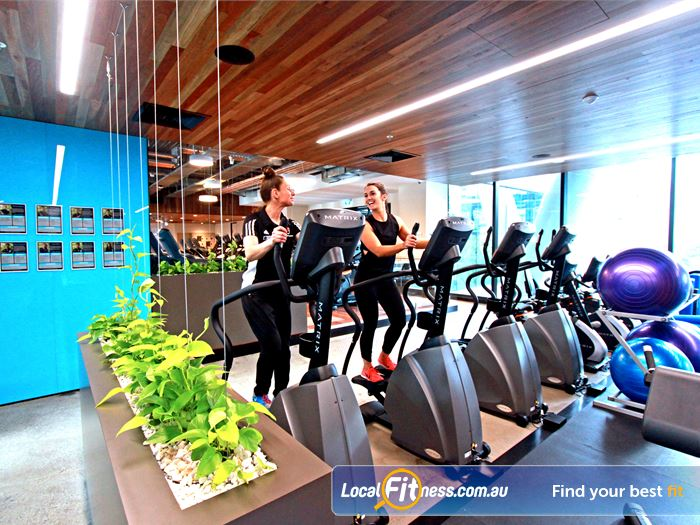 Goodlife Health Clubs Gym North Melbourne  | 24 hour Docklands gym access is perfect for