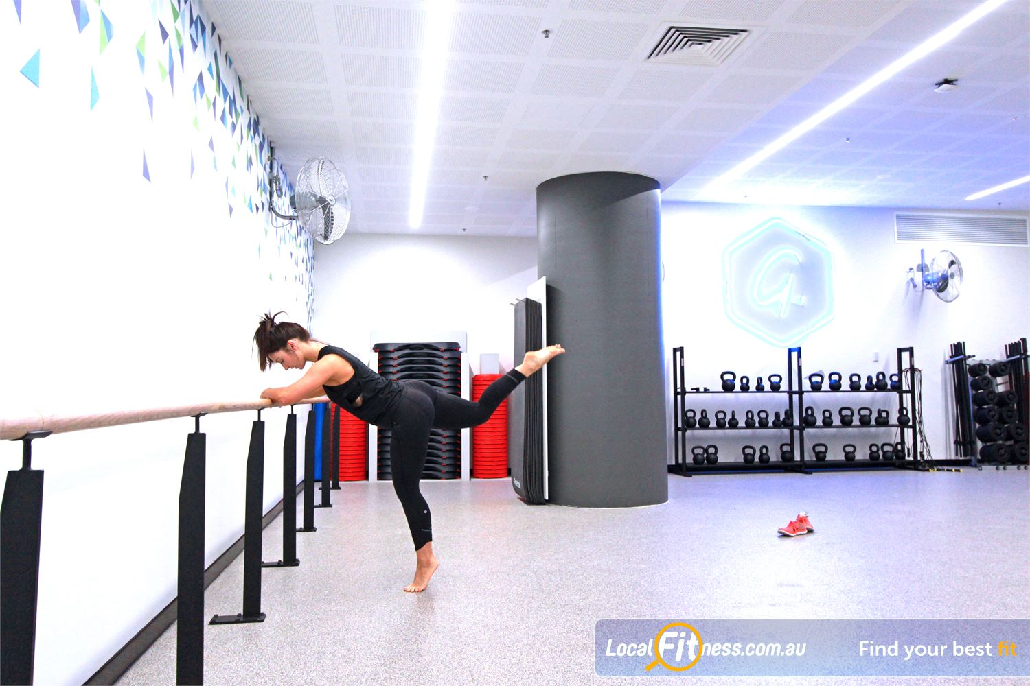 Goodlife Health Clubs Docklands Exclusive Docklands Barre, Yoga and Pilates classes.