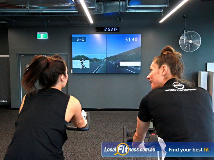 Goodlife Health Clubs South Melbourne Gym Fitness Experience high tech virtual