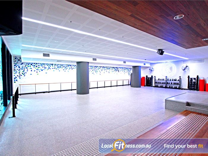 Goodlife Health Clubs Docklands Gym Fitness This architecturally-designed