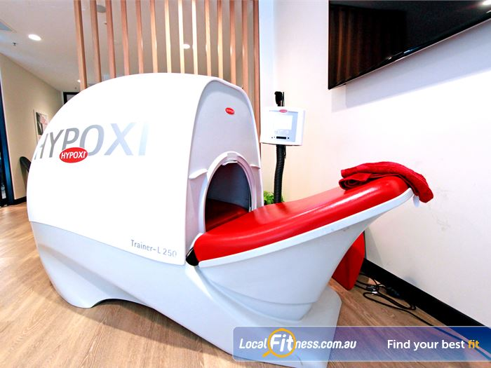 Goodlife Health Clubs North Melbourne Gym Fitness The high tech Hypoxi machines