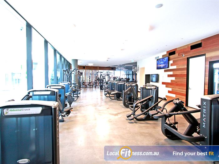 Goodlife Health Clubs Docklands Gym Fitness The state of the art Docklands