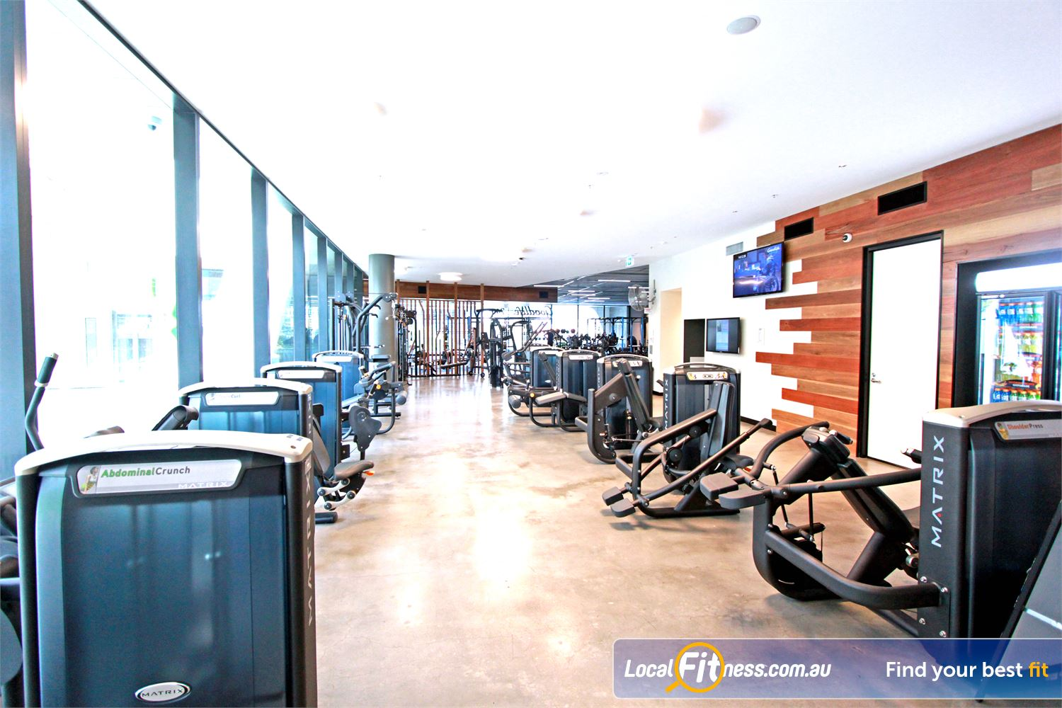 Goodlife Health Clubs Docklands The state of the art Docklands gym in Medibank Place.