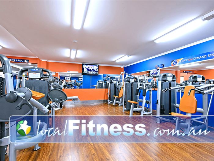 Plus Fitness 24/7 Camden South State of the art Camden South gym access 24 hours a day.