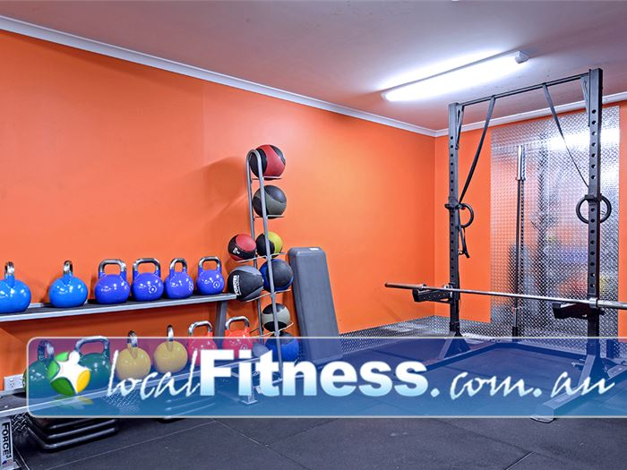 Plus Fitness 24/7 Near Cawdor Functional training with kettlebells, power rings and more.