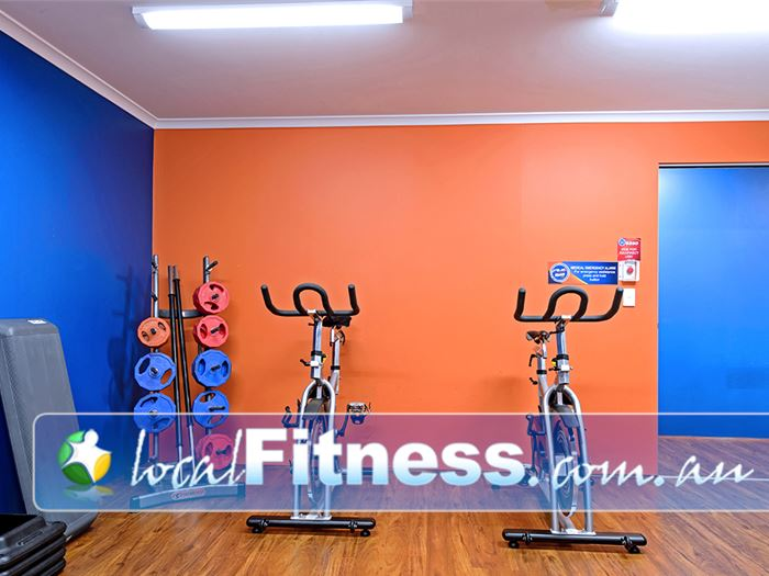 Plus Fitness 24/7 Camden South Virtual Camden South spin cycle classes.