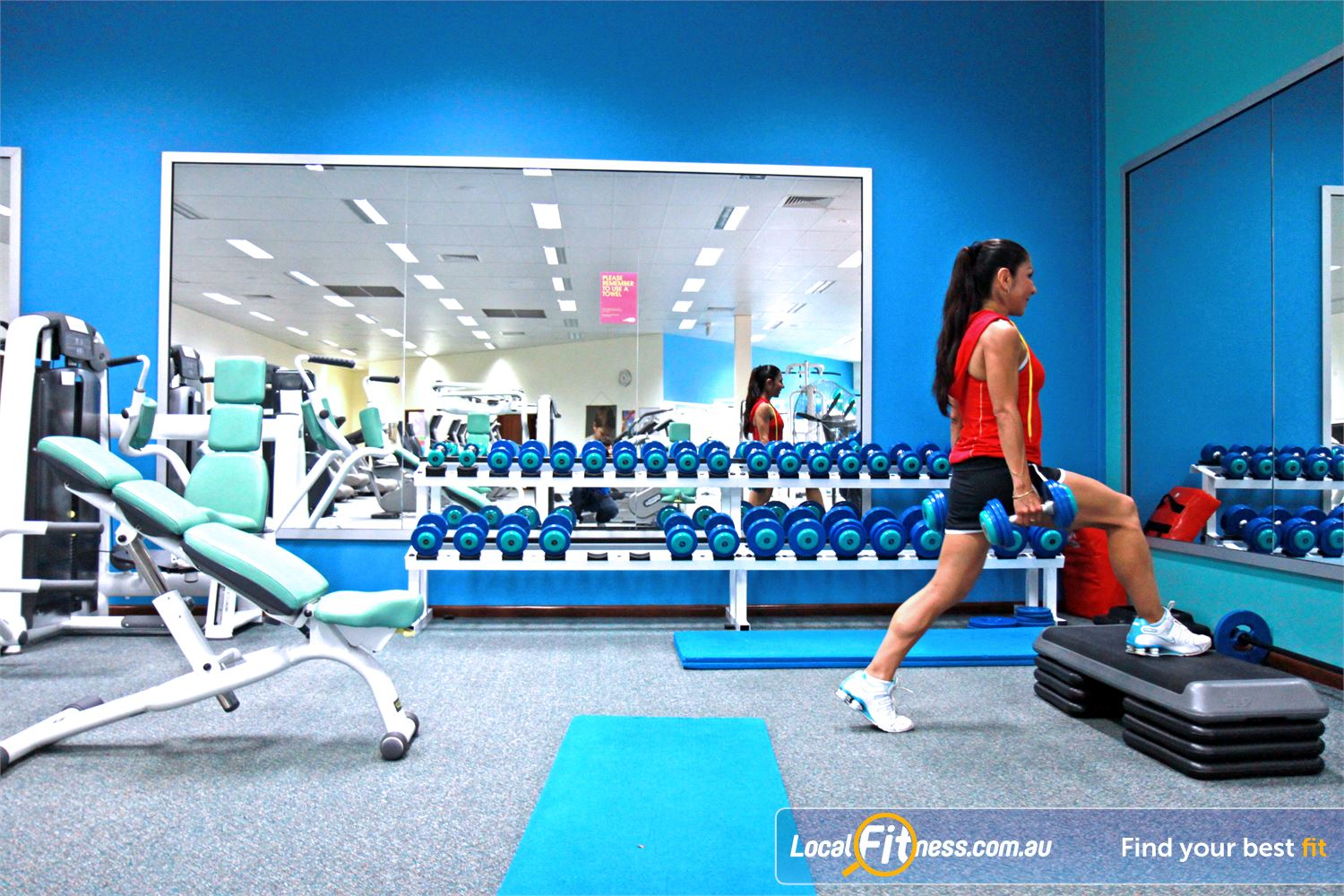 Fernwood Fitness Near Springwood Our Underwood women's gym strength training programs allow you to progress.