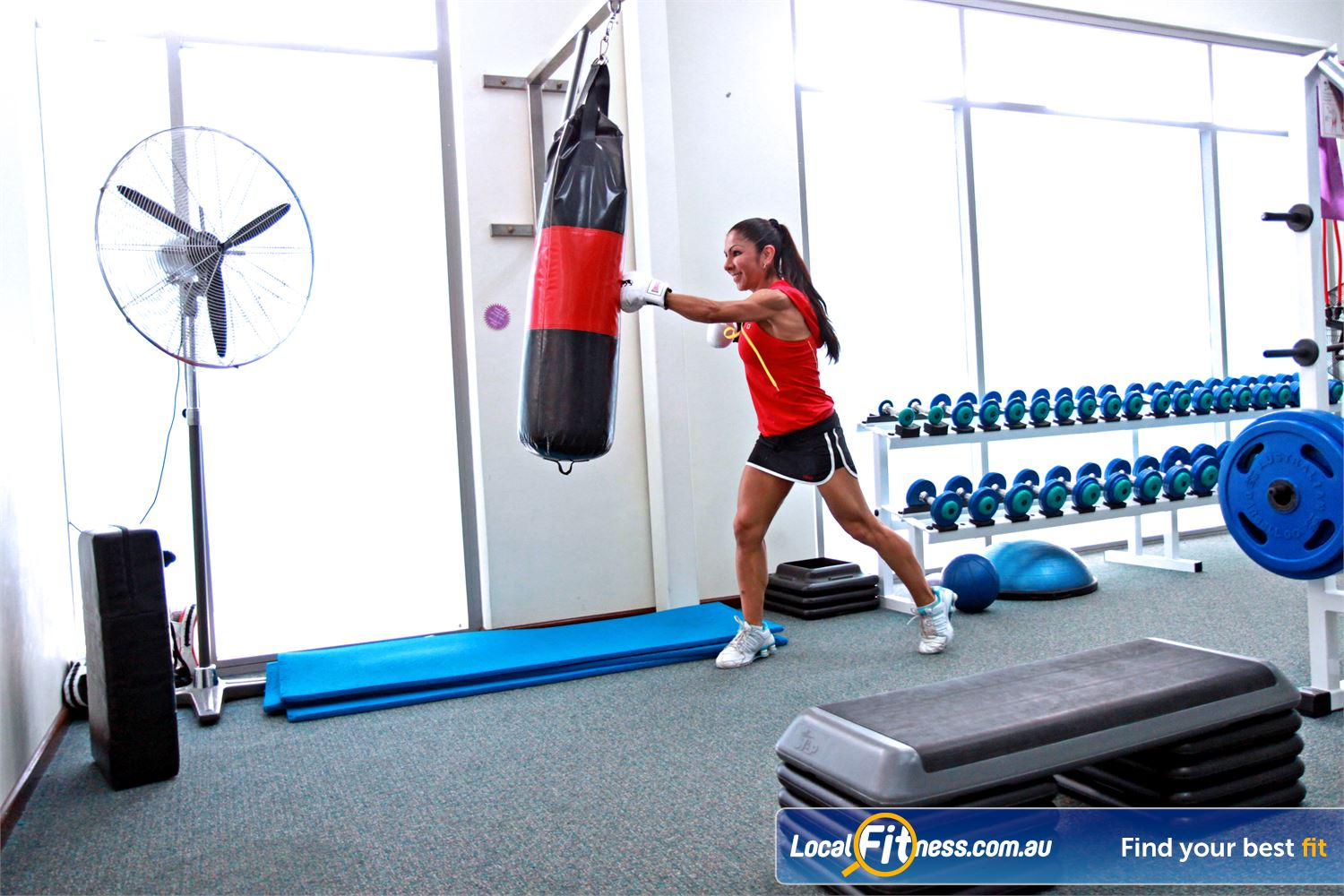 Fernwood Fitness Near Springwood At Fernwood Underwood women's gym we focus on multi-joint movements such as boxing.