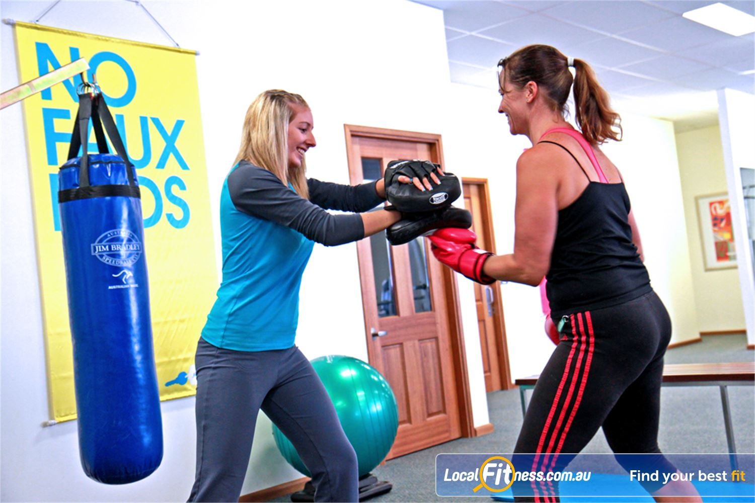 Fernwood Fitness Underwood Lose weight fast with our energetic cardio boxing workouts.