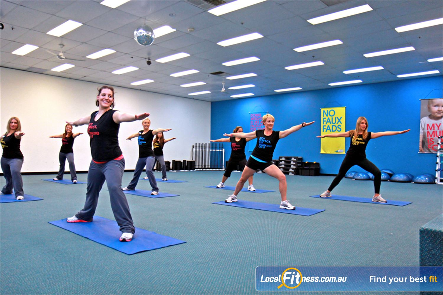 Fernwood Fitness Near Rochedale South Pilates and Underwood Yoga are popular classes that run throughout the week.