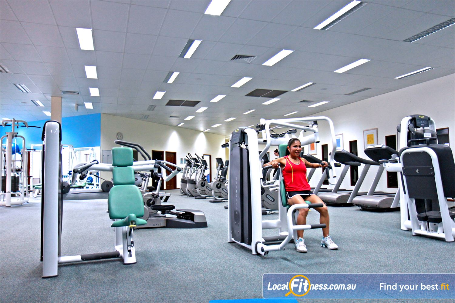 Fernwood Fitness Underwood We have the right Underwood gym equipment to help with women's weight loss and strength.