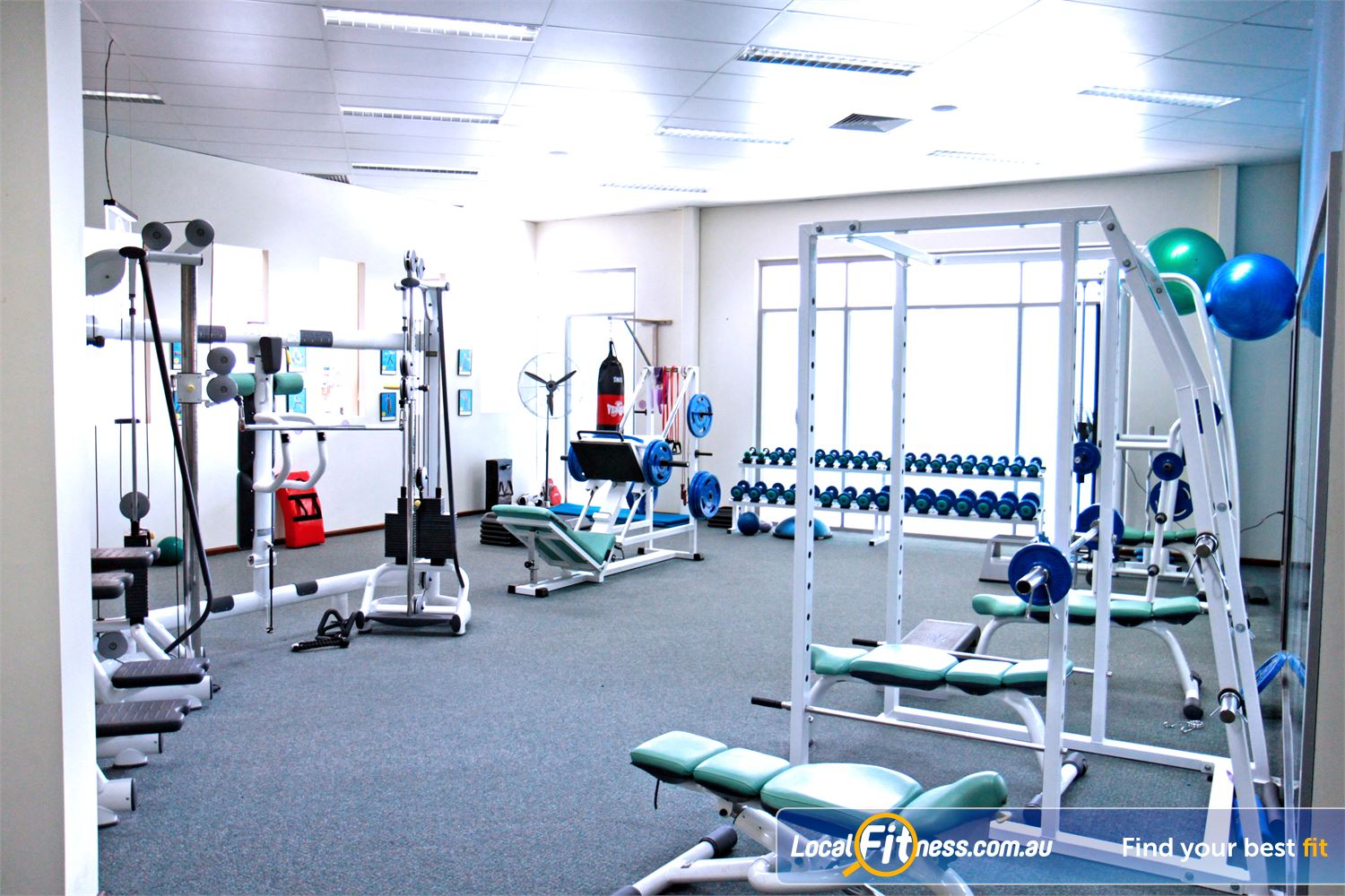 Fernwood Fitness Underwood We provide the right fitness and weights to help women lose weight.