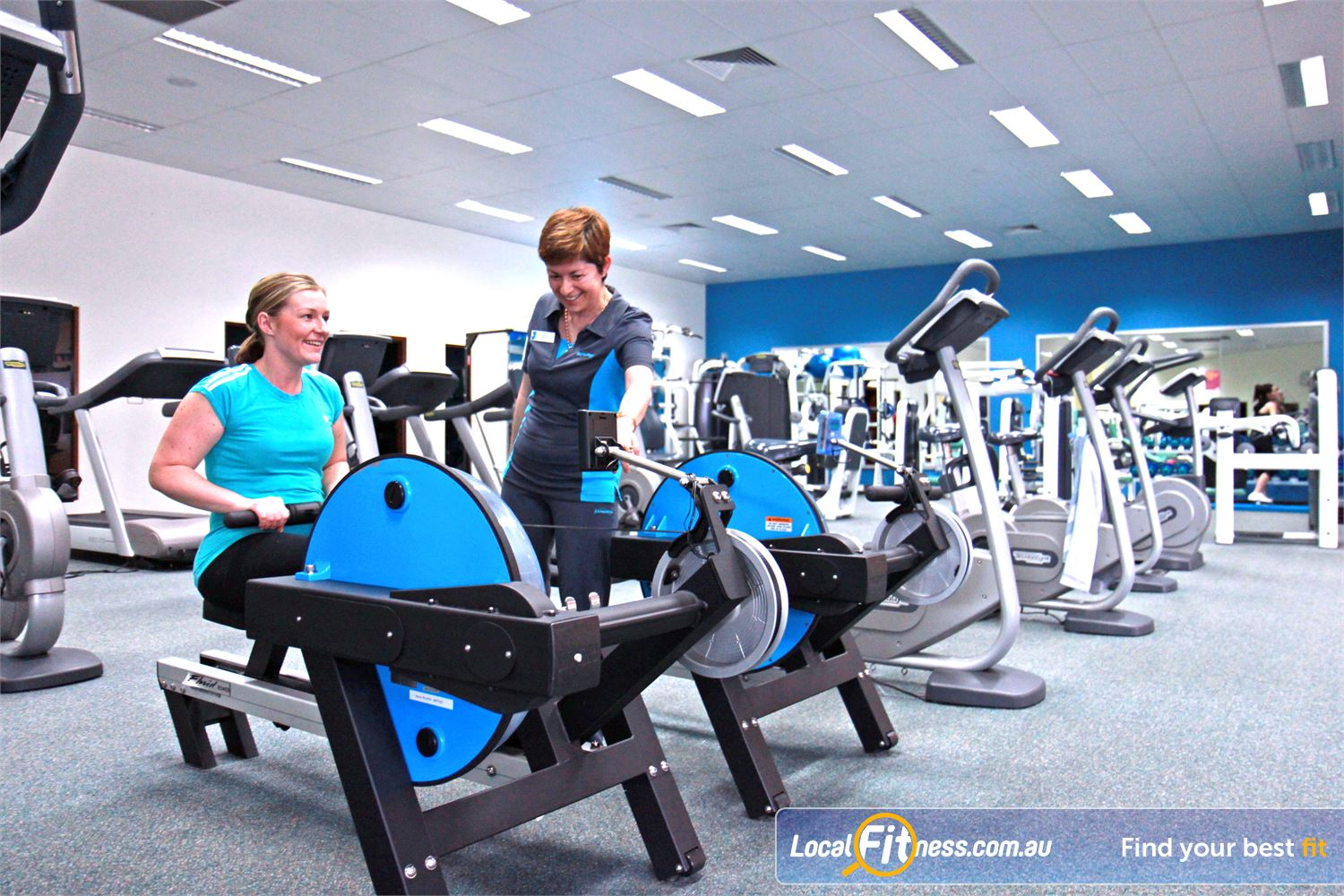 Fernwood Fitness Underwood Underwood personal trainers provide experienced & qualified exercise advice.