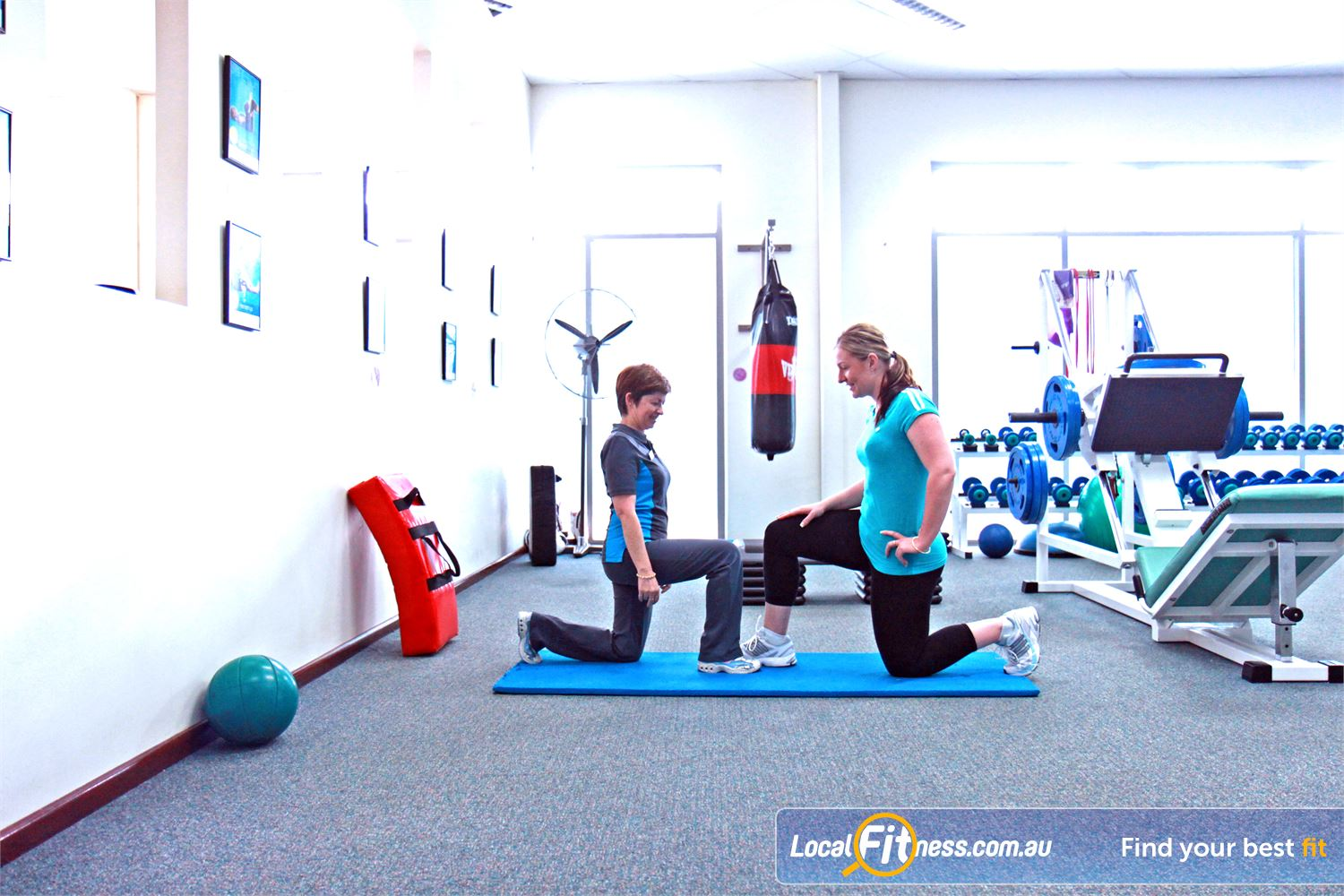 Fernwood Fitness Underwood Fernwood Underwood trainers will create a enjoyable stretching and ab program to suit you.