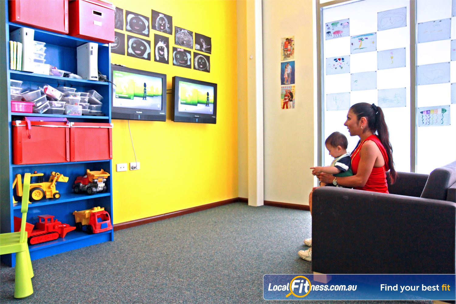 Fernwood Fitness Underwood We provide your children with the latest gaming consoles.