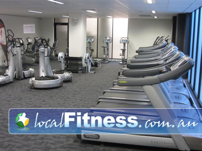 Fernwood Fitness Gym Epping  | Luxury Ryde gym training with personal entertainment units