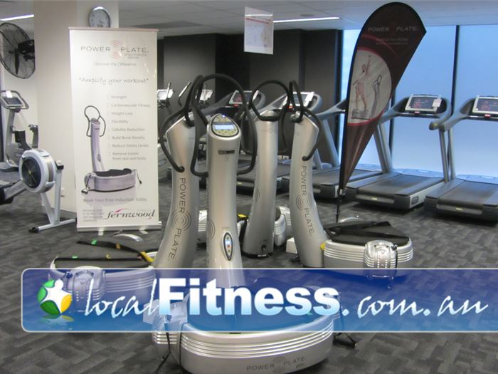 Fernwood Fitness Ryde Ladies Gym Fitness Get into vibration training.