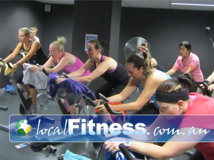 Fernwood Fitness East Ryde Ladies Gym Fitness Dedicated Ryde spin cycle
