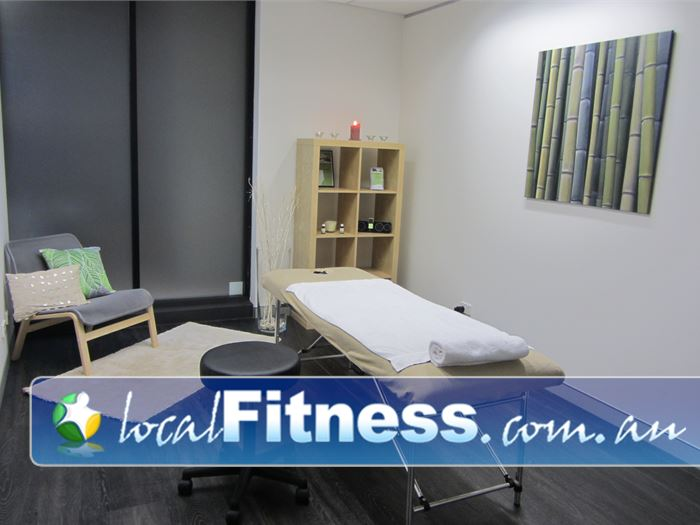 Fernwood Fitness Denistone Ladies Gym Fitness On-site massage service will