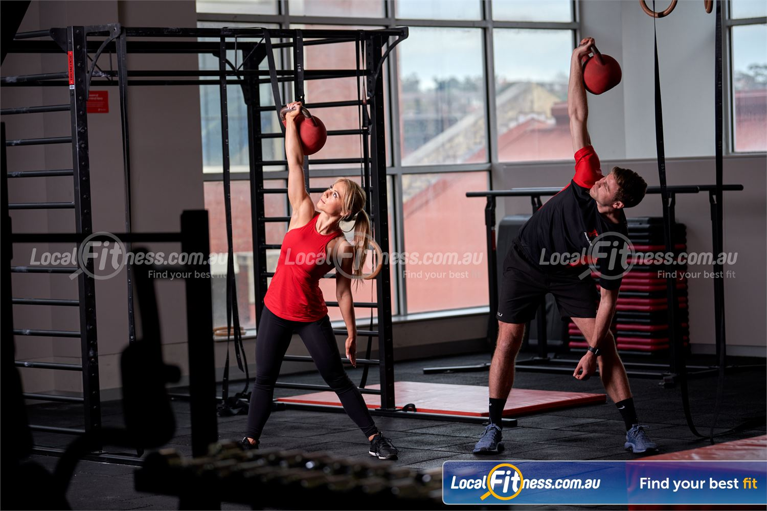 Fitness First Platinum The Zone King St Sydney Get functional and get in the zone with kettlebells training.