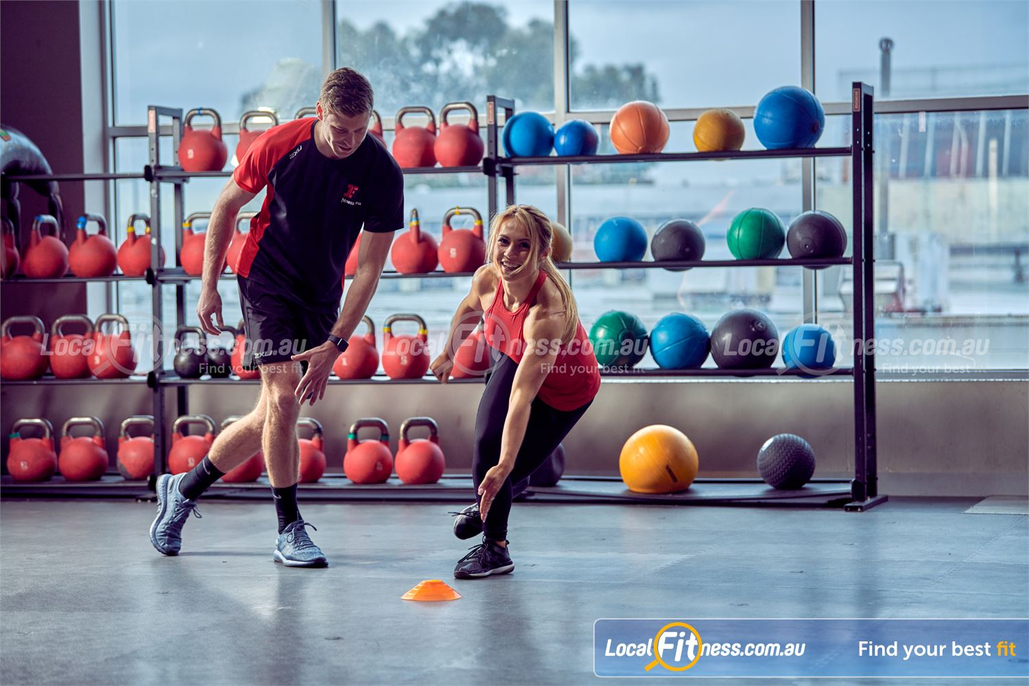 Fitness First Platinum The Zone King St Near Alexandria Mc Use equipment such as ViPRs, Kettlebells and Medicine Balls in Zone 1.