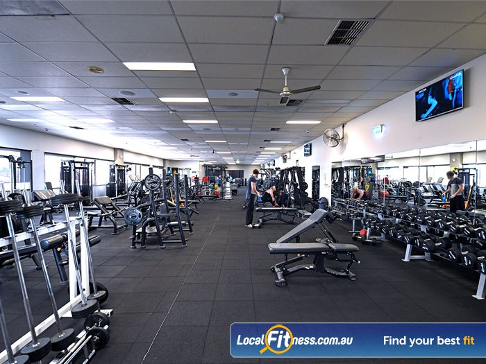 Goodlife Health Clubs Gym Hoppers Crossing  | The fully equipped Hoppers Crossing gym.