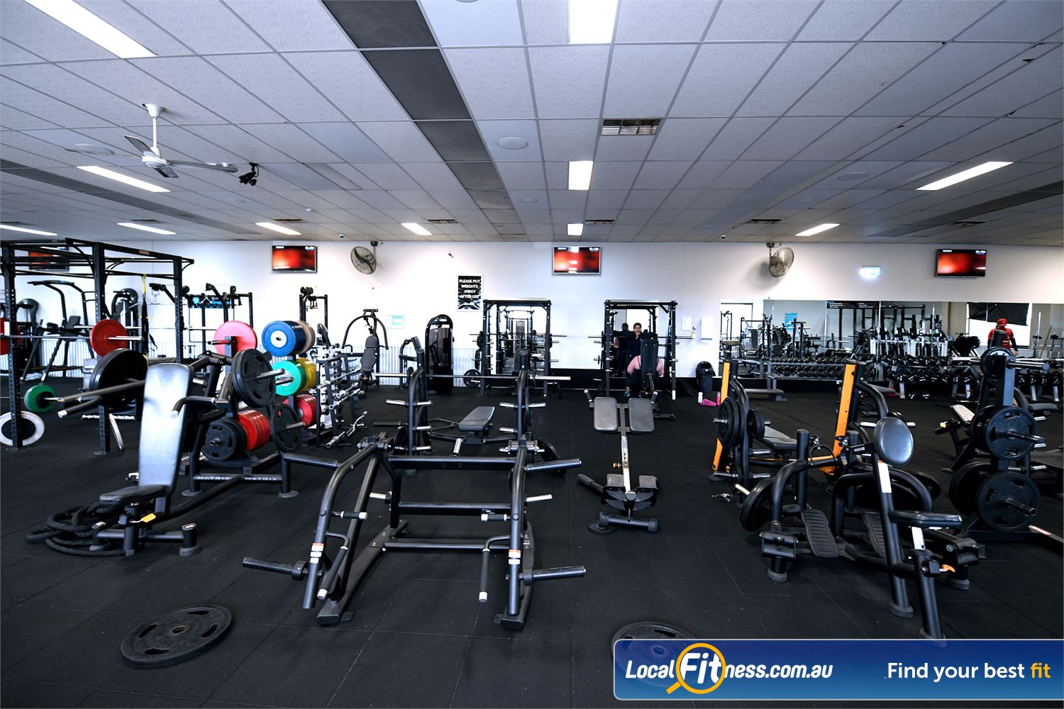 Goodlife Health Clubs Hoppers Crossing Our Hoppers Crossing gym provides state of the art equipment.
