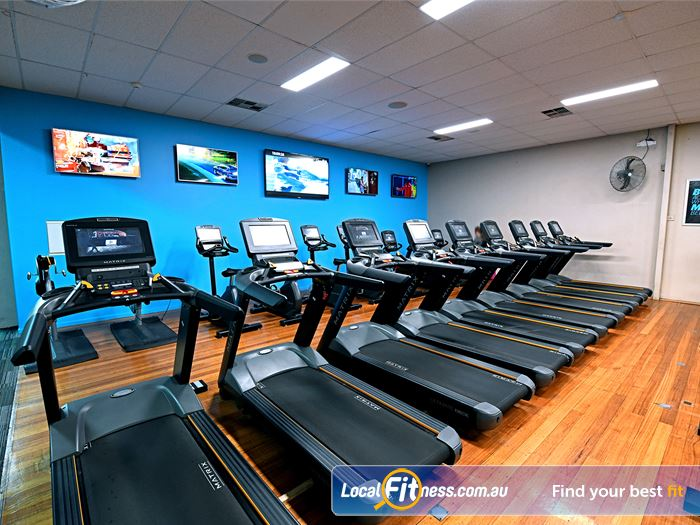 Goodlife Health Clubs Gym Hoppers Crossing  | Tune into your favourite shows in our cardio