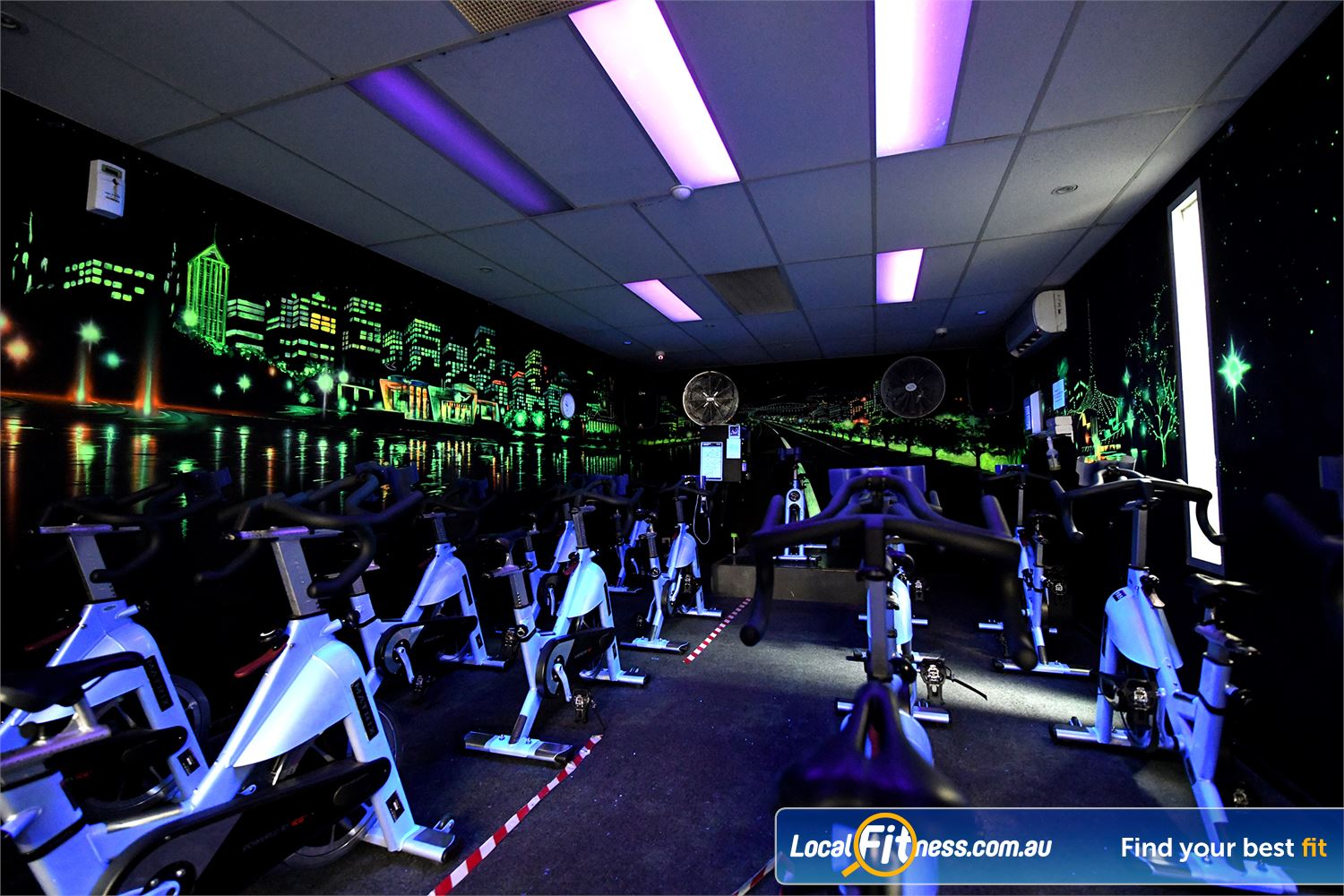 Goodlife Health Clubs Near Truganina Dedicated Hoppers Crossing spin cycle studio.