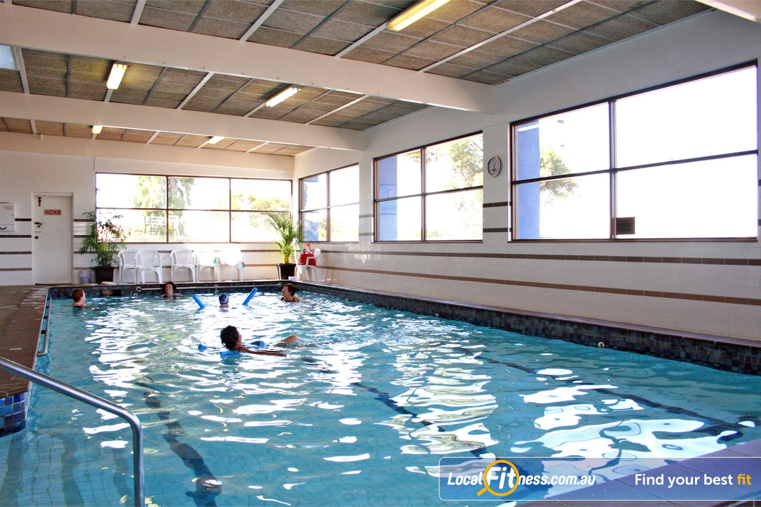 Goodlife Health Clubs Near Tarneit 15m indoor Hoppers Crossing swimming pool.