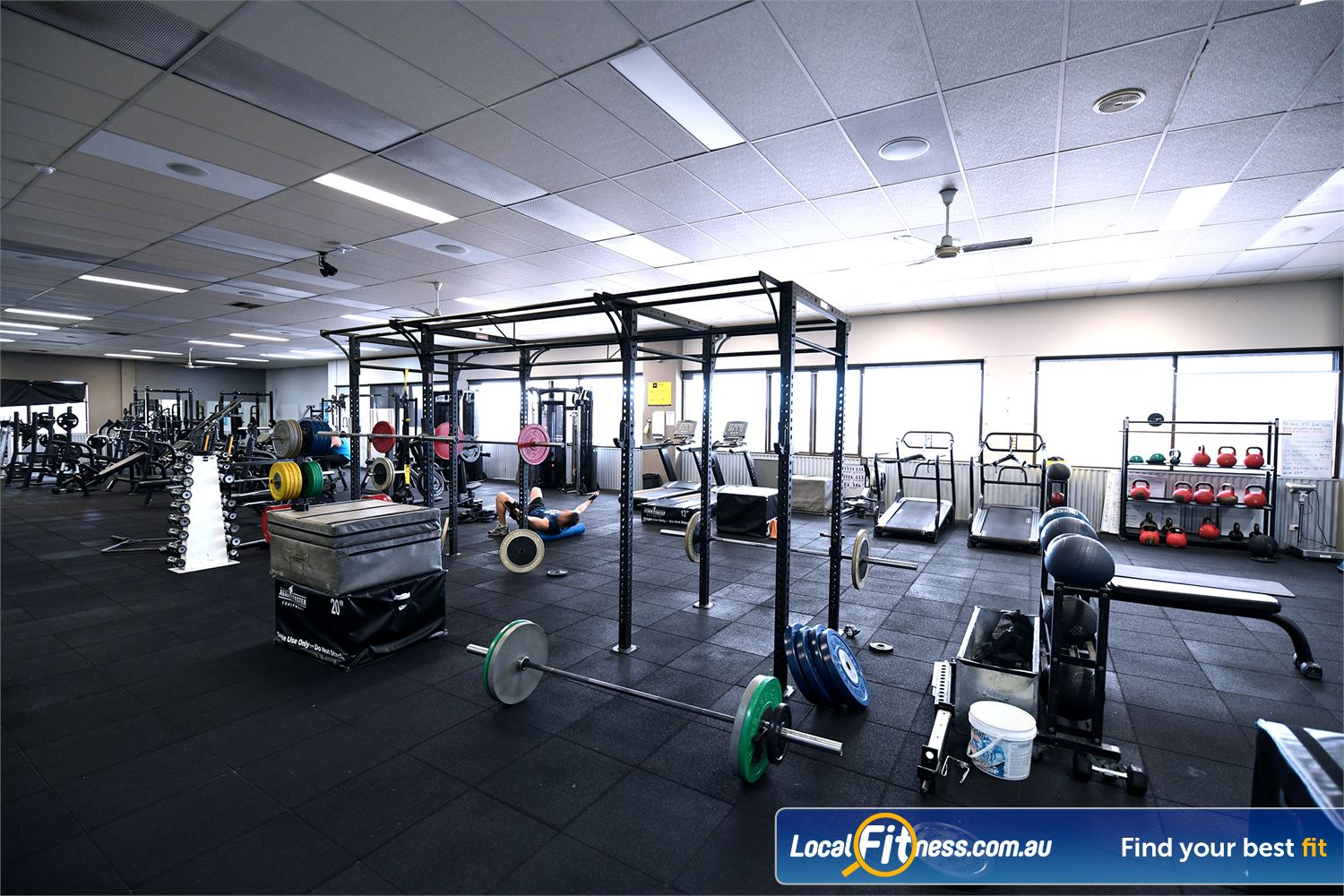 Goodlife Health Clubs Near Truganina The functional training space at Goodlife Hoppers Crossing.