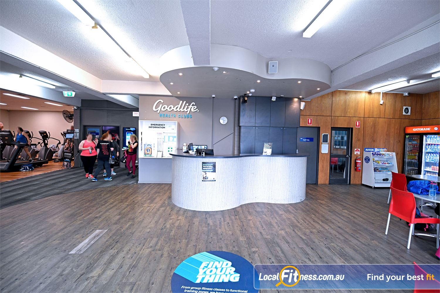 Goodlife Health Clubs Near Werribee Our team are ready to help you with your needs when you arrive.
