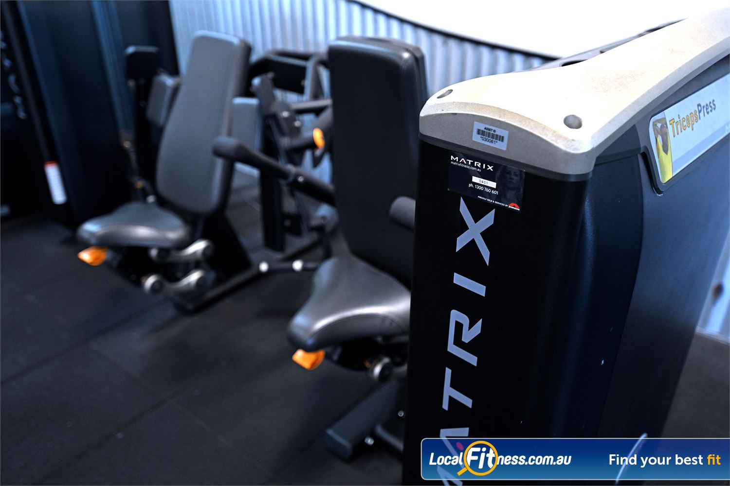 Goodlife Health Clubs Hoppers Crossing Our Hoppers Crossing gym includes state of the art equipment from MATRIX.