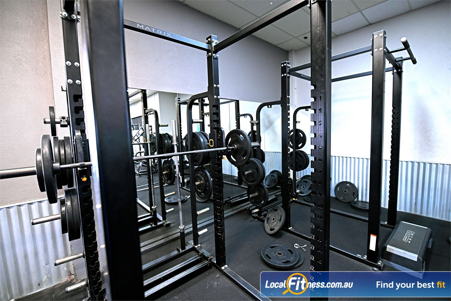 Goodlife Health Clubs Hoppers Crossing Our Hoppers Crossing gym has multiple heavy duty power racks.