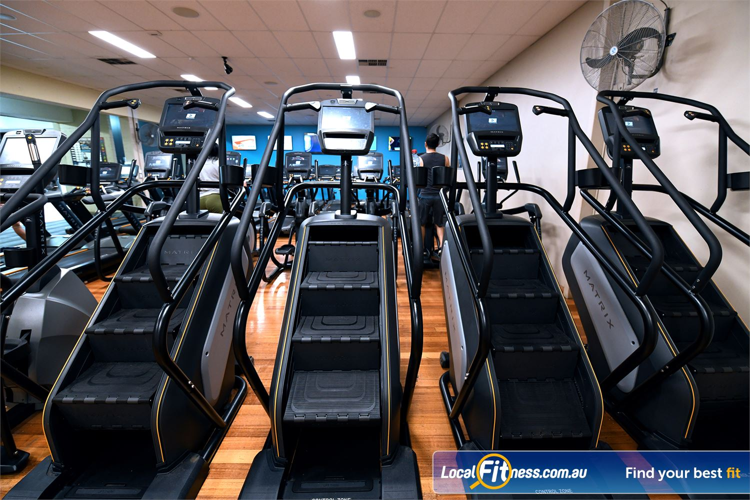 Goodlife Health Clubs Hoppers Crossing We have 4 popular stair climbers in our Hoppers Crossing gym.