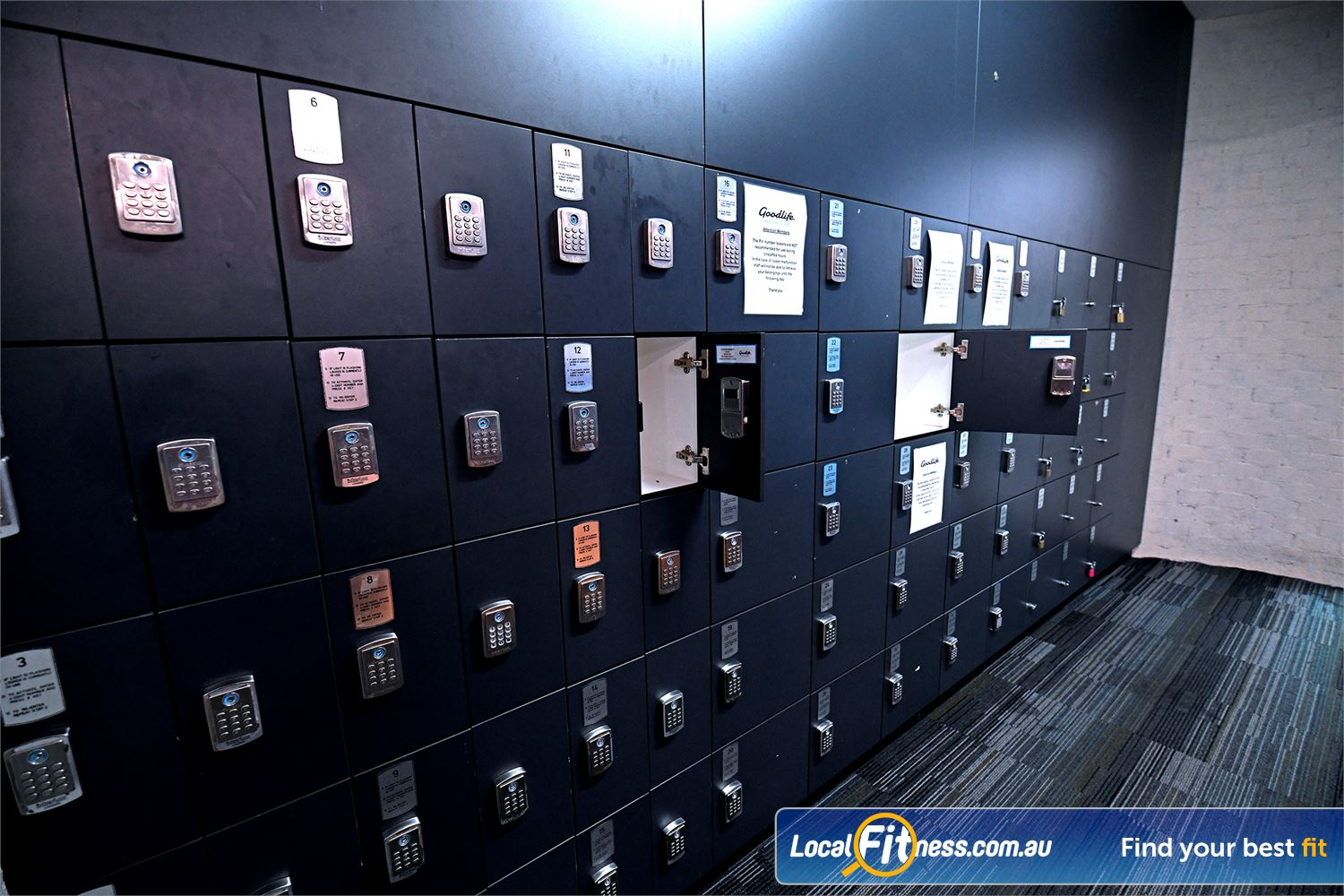 Goodlife Health Clubs Near Tarneit Store your keys, mobile phones, etc in our secure cardio locker facilities.