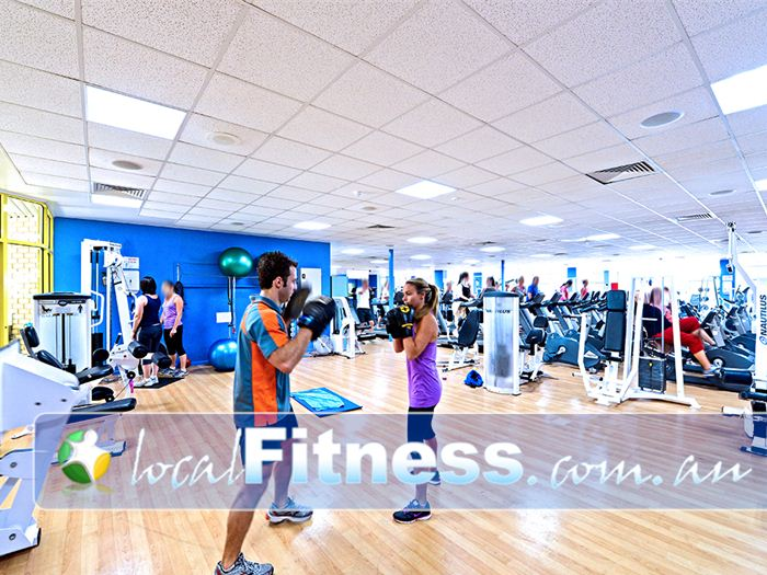 Belmont Oasis Leisure Centre Gym Bedford  | The spacious 550 sq/m Belmont gym.