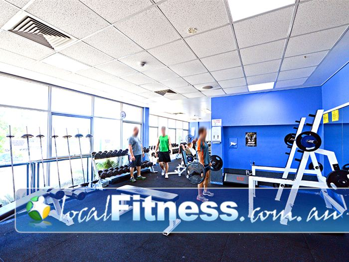 Belmont Oasis Leisure Centre Near Cloverdale Fully equipped with barbells, dumbbells, racks, benches and more.