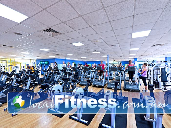 Belmont Oasis Leisure Centre Near Redcliffe Our Belmont gym includes over 30 pieces of state of the art cardio.