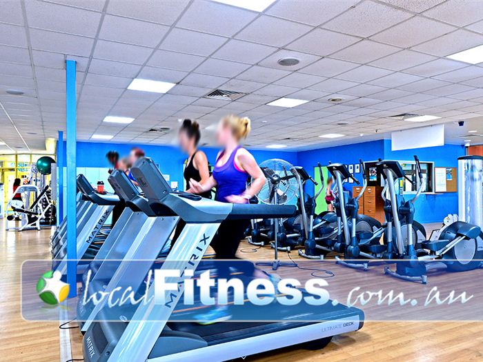 Belmont Oasis Leisure Centre Belmont Our Belmont gym includes multiple rows of machines so you don't have to wait.