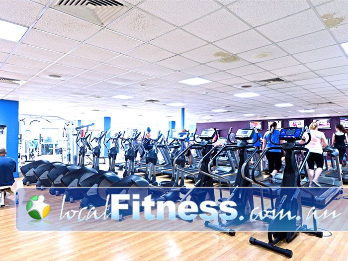 Belmont Oasis Leisure Centre Belmont Your choice of equipment includes treadmills, recumbent bikes, upright bikes, rowers and more.