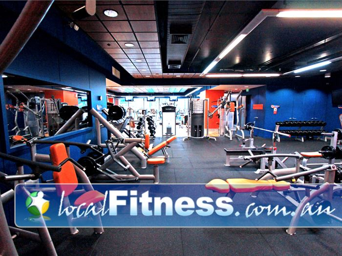 Plus Fitness 24/7 Flinders St Gym Melbourne    State of the art Melbourne gym access 24